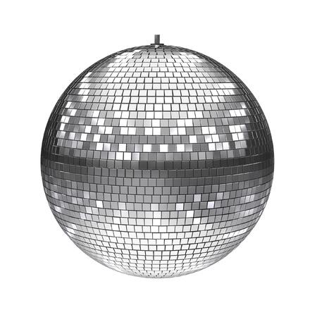 disco ball isolated on white