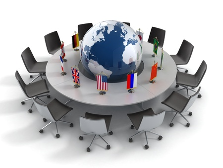 United nations, global politics, diplomacy, strategy, environment, world leadership 3d concept