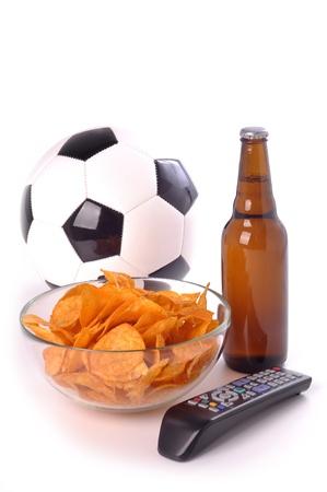 football, soccer, fan, supporter, kit, set