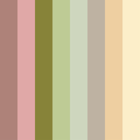 Seamless pastel stripes pattern. Abstract vector background.