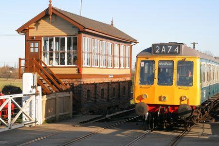 DMU Railway Engine and Signal Box