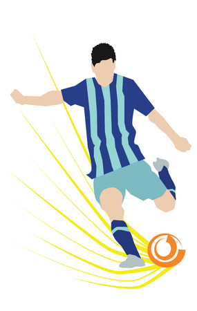 Abstract Soccer Player Scoring