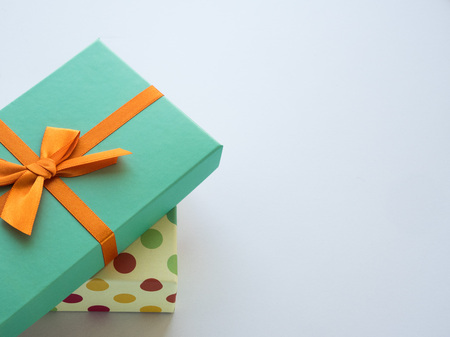 Wrapped vintage gift box