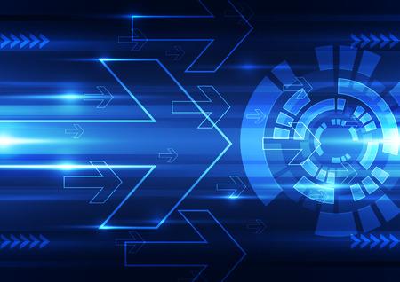 Illustration pour abstract vector future technology speed background illustration - image libre de droit