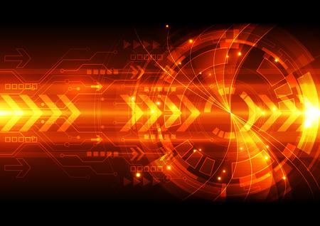 Foto de abstract vector digital technology background illustration - Imagen libre de derechos