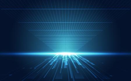Illustration pour Abstract speed technology concept. vector illustration background - image libre de droit