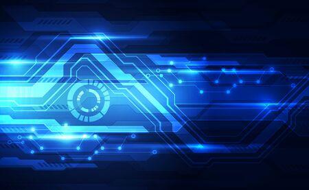 Illustration pour Vector Abstract futuristic technology - image libre de droit
