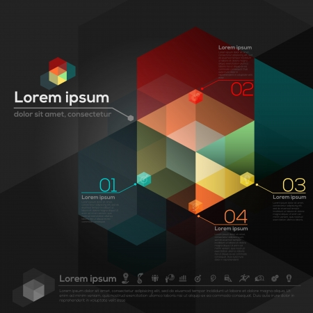 Geometric Shape Abstract Design Layout