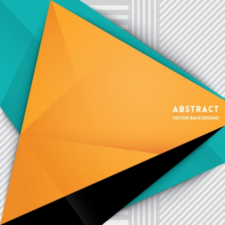 Abstract Triangle Shape Background for Web Design / Print / Presentation