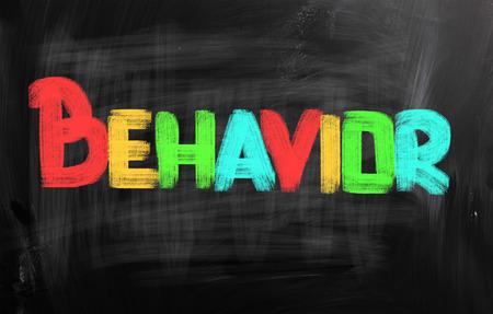 Behavior word