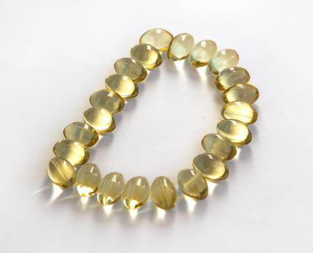 Sunshine Vitamin D letter on white background