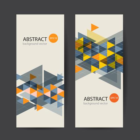 Illustration pour Banner Colorful Dynamic Abstract. Vector illustration. - image libre de droit