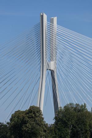Redzinski bridge over the Oder Wroclaw