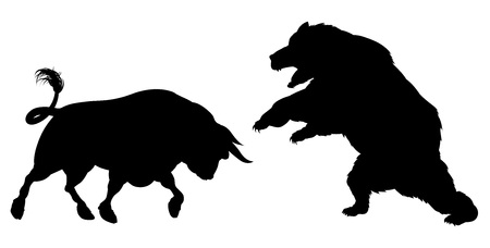 Bear vs. Bull in cryptocurrency trading