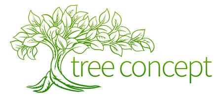 Foto per Tree Concept Icon - Immagine Royalty Free