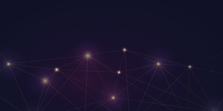 Illustration pour abstract digital shiny network web background vector illustration - image libre de droit