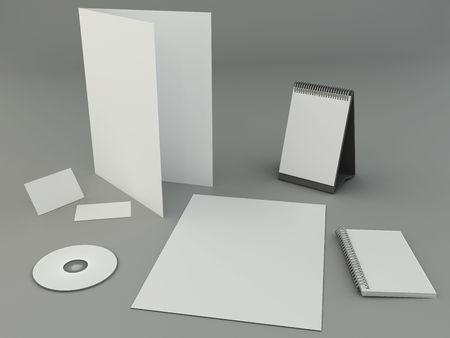 Bright design presentation template