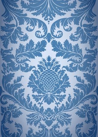 Illustration pour Seamless baroque background pattern - image libre de droit