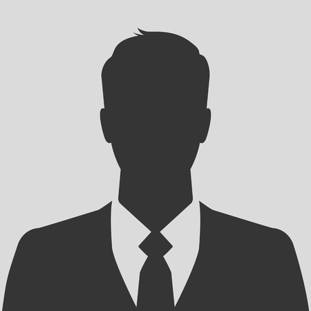 Businessman silhouette avatar profile picture