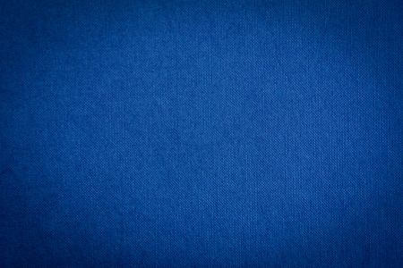 Dark blue fabric texture background