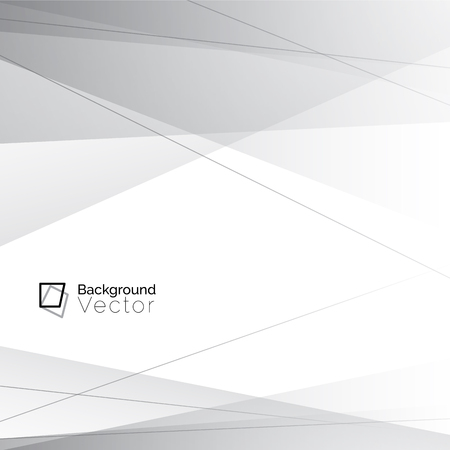 Illustration pour Modern white gray line abstract background - image libre de droit