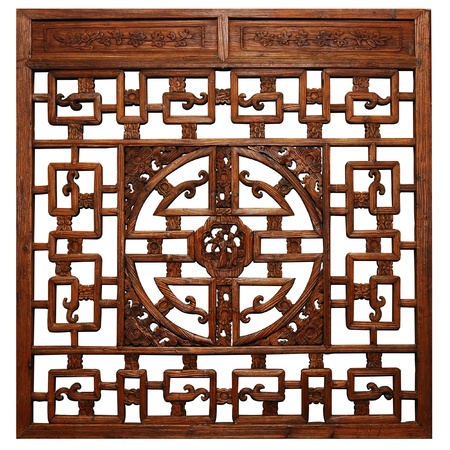 Photo pour Chinese Traditional wood carvings  - image libre de droit
