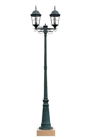 Lamp Post Lamppost Street Road Light Pole isolated