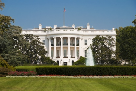 The White House in Washington D C , the South Gate