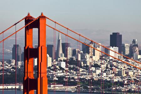 Photo pour San Francisco from San Francisco Headlands - image libre de droit
