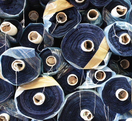 Details of a raw materials for sewing company.