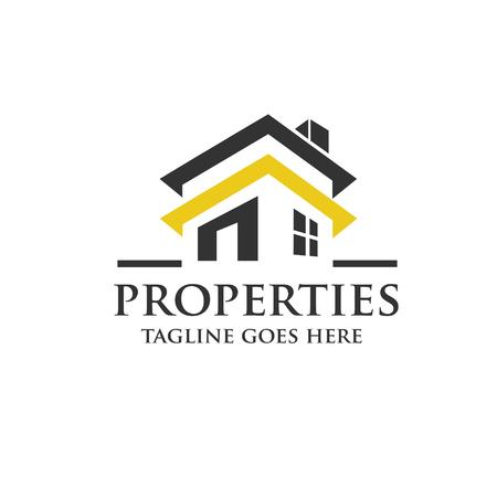 Illustration pour real estate logo concept - image libre de droit
