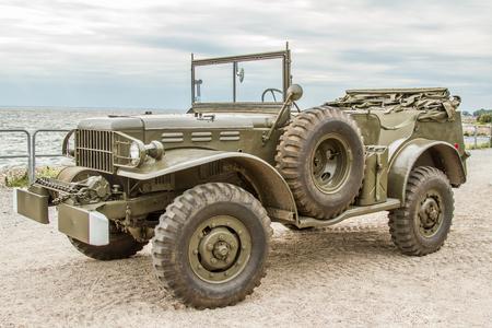 American military vehicle Dodge WC 57 command used in World War II
