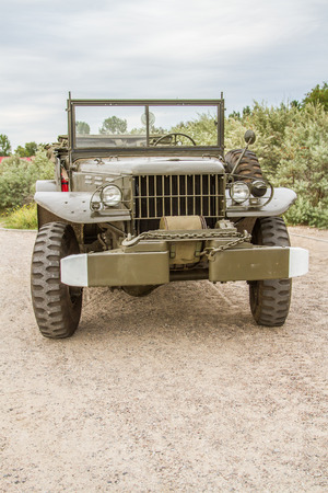 American military vehicle   command used in World War II