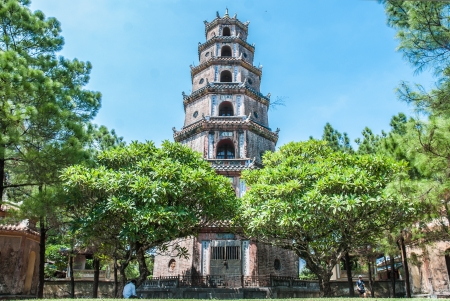 The Most Famous Pagoda in Hue, Vietnam