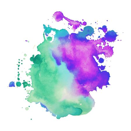 Illustration for Abstract hand drawn watercolor background - Royalty Free Image