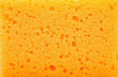 Kitchen sponge isolated on the white background