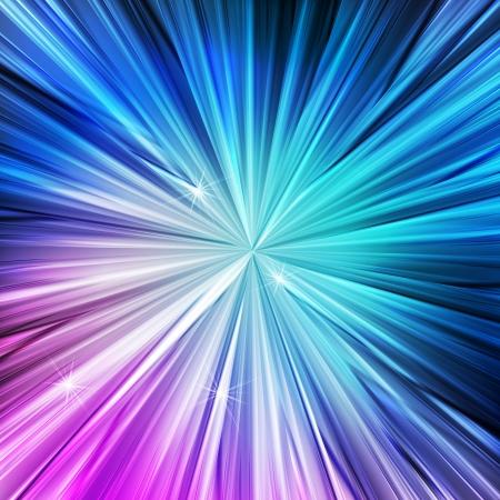 Neon abstract lines design on dark background vector concept