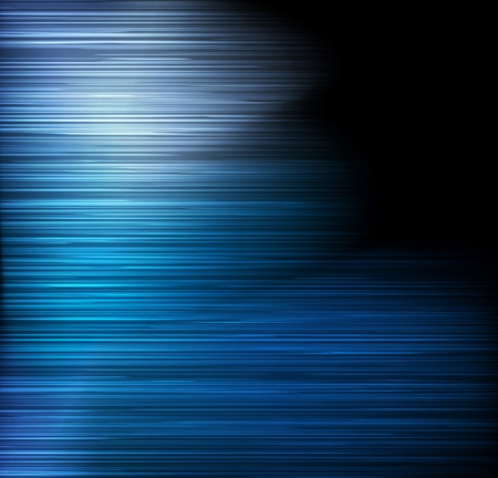 Blue abstract detailed light lines vector background illustration