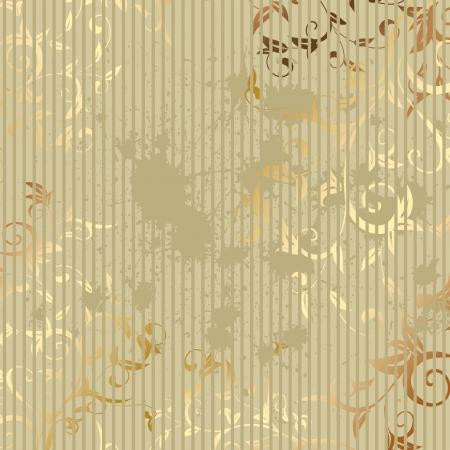 vintage golden background