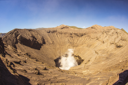 Mount Bromo at Java in Indonesia