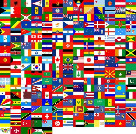 Flags Of The World (240 Flags)