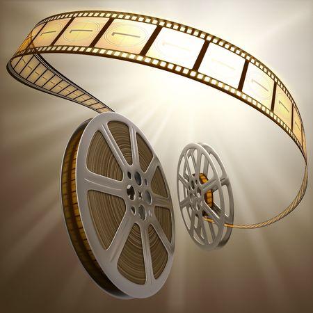 Film Reel Backlight