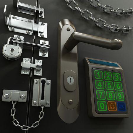 Photo pour Security Concept - image libre de droit