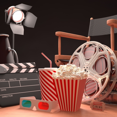 Objects of the film industry, the concept of cinema