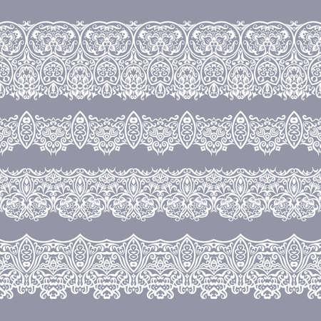 Photo pour Abstract ethnic nature seamless line art stripes - image libre de droit