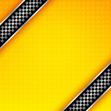Illustration pour Racing ribbons background template - image libre de droit