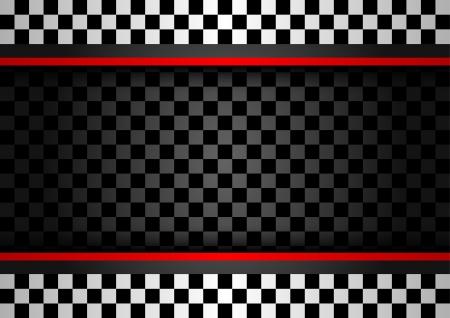 Illustration pour Racing horizontal backdrop - image libre de droit