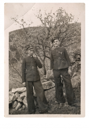 soldiers - circa 1950
