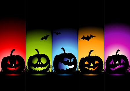Halloween banners for your design