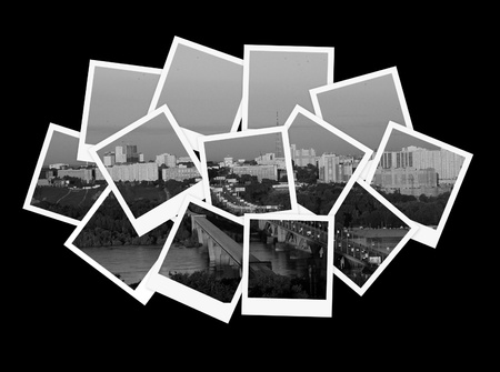 Cityscape, collage of photos for your design
